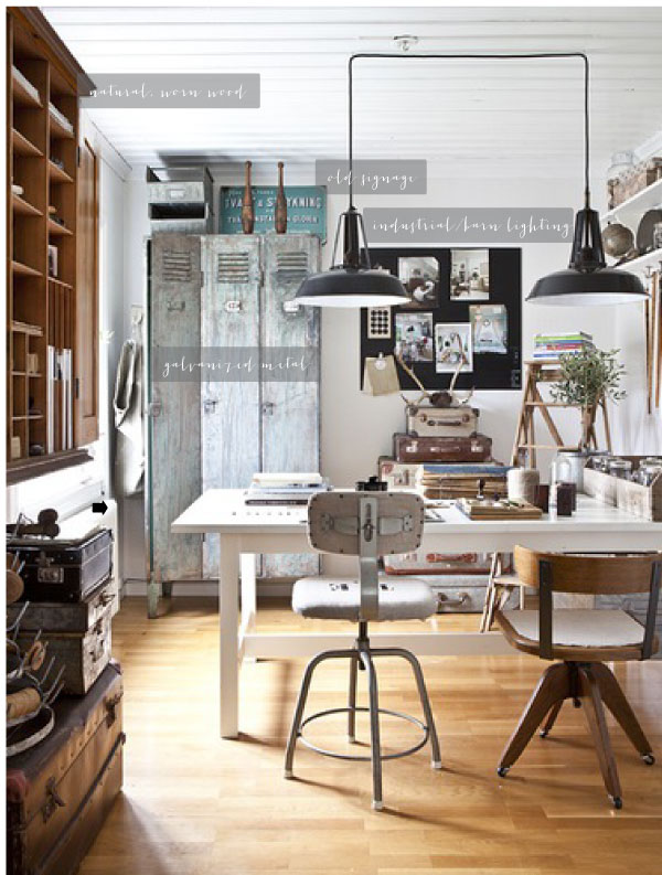 Industrial chic jenngoodrichdesign - Style industriel chic ...
