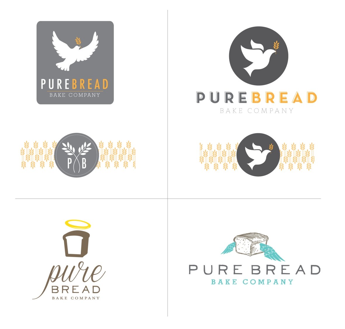 PUREBREAD LOGOS for blog